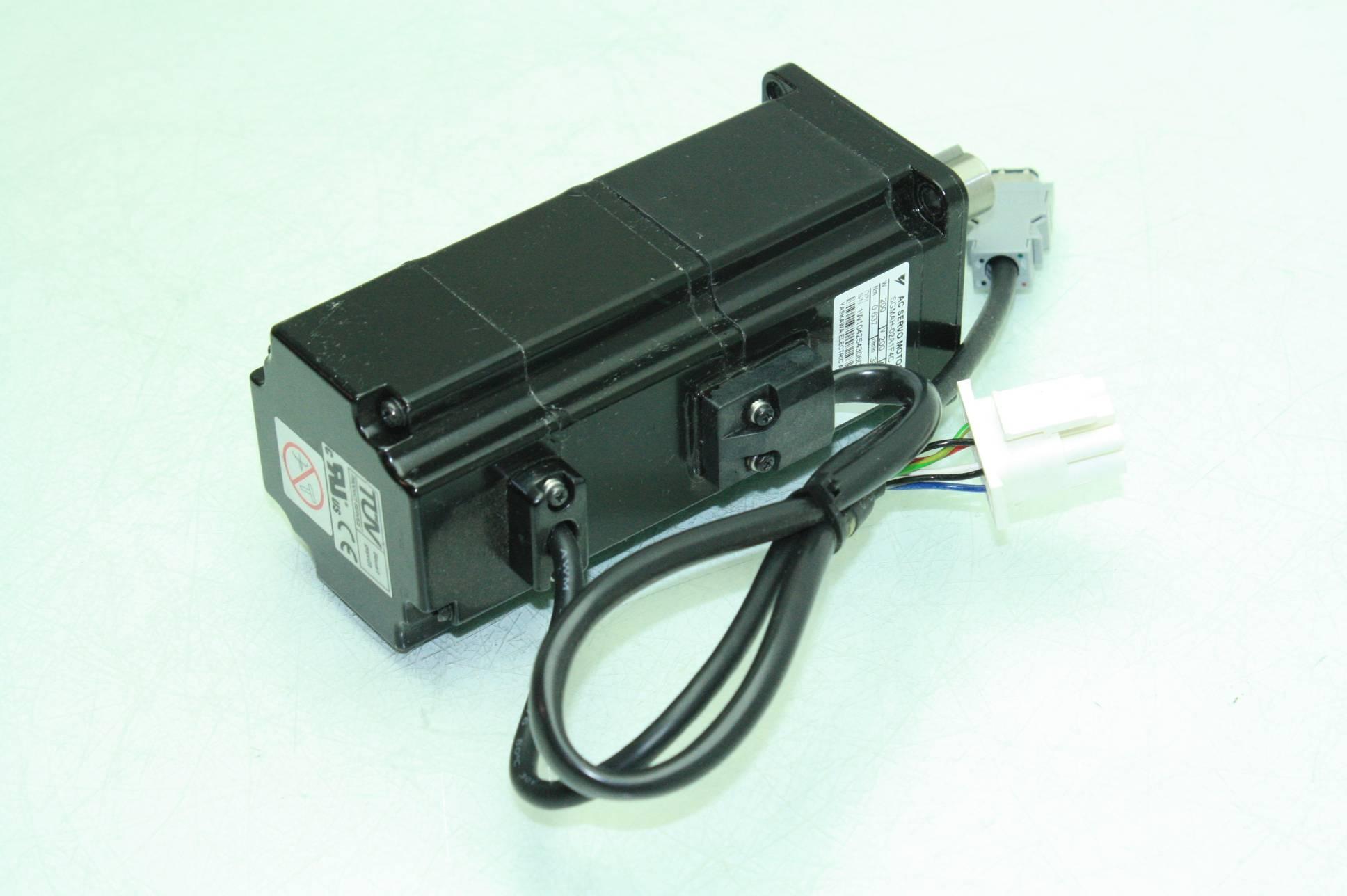 Yaskawa Electric Sgmah 02a1f4c Brushless Ac Servo Motor 200w Ebay