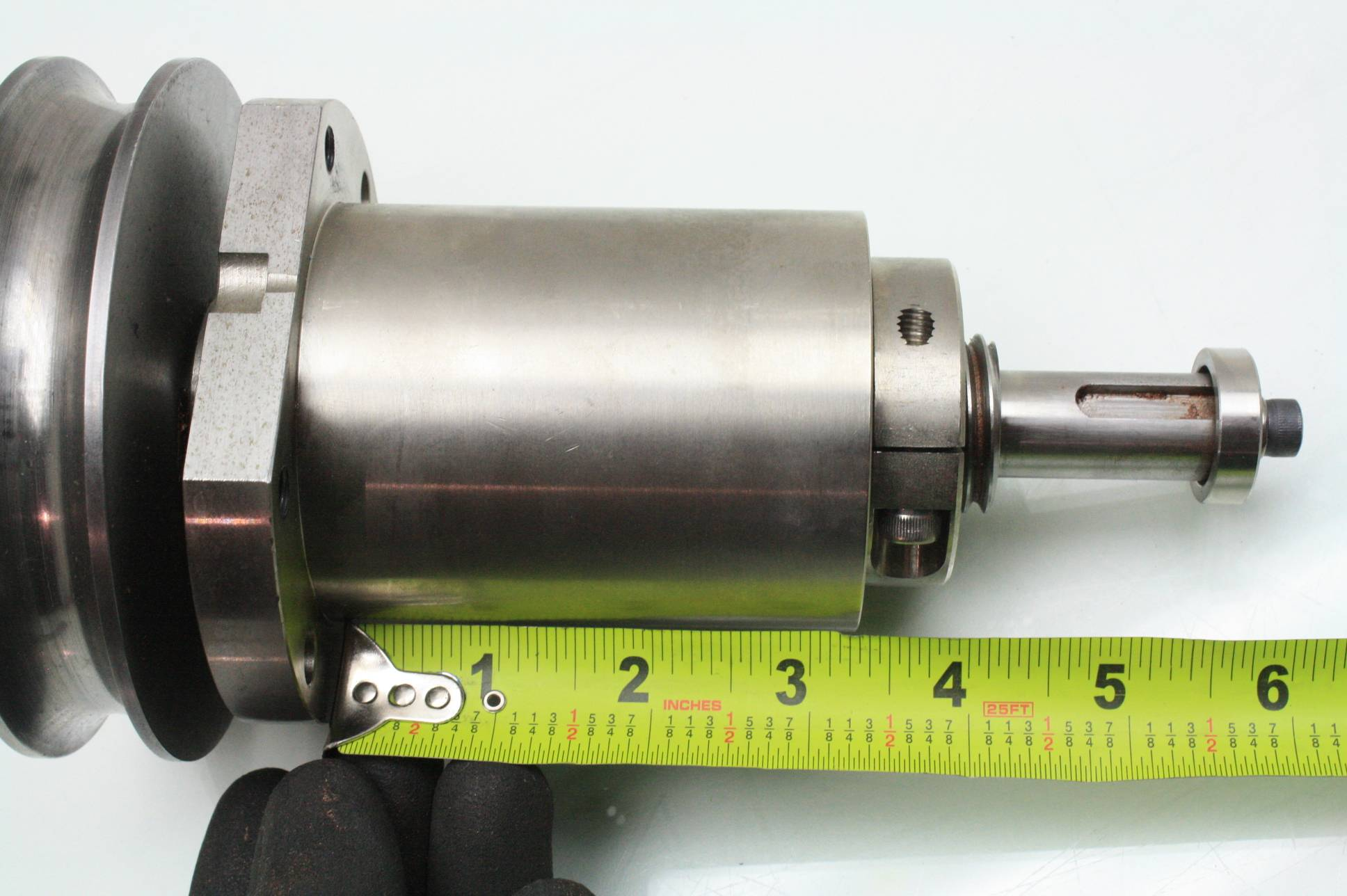 Heavy Duty Hubs And Spindles : Heavy duty conveyor roller spindle dual mm od nachi