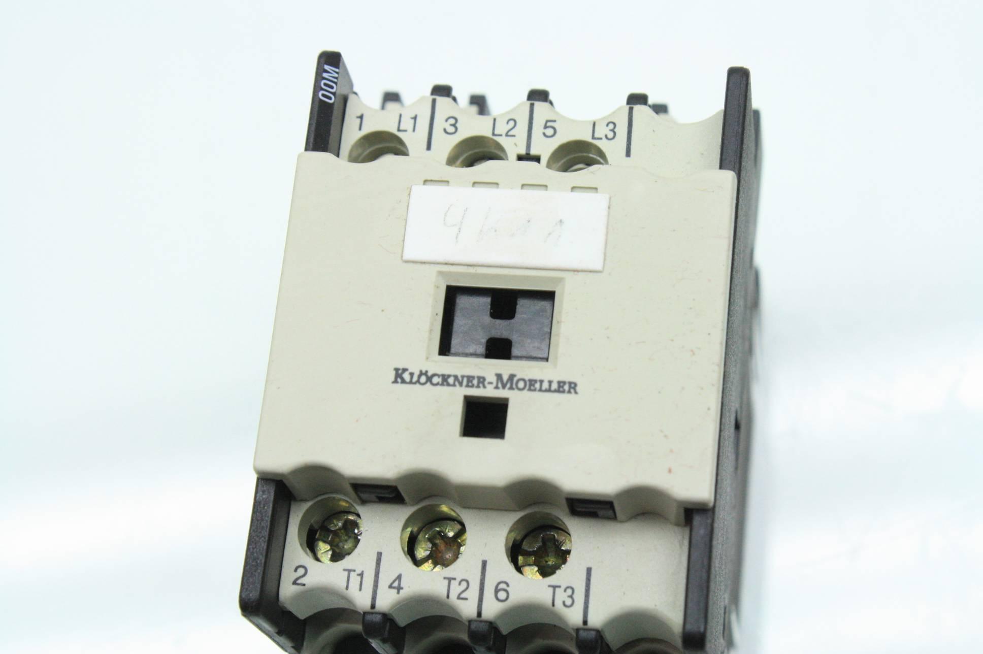 Klockner moeller dil m contactors a vs relay