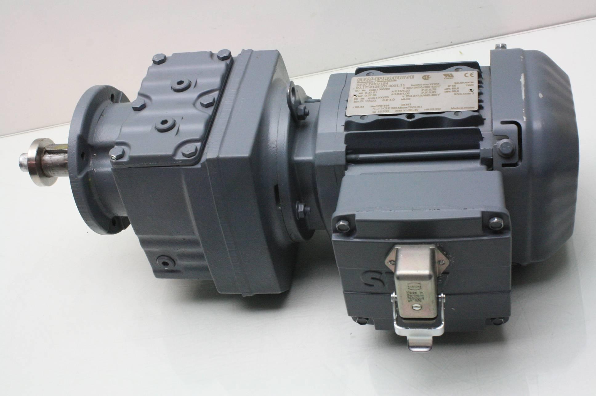 Sew Eurodrive Rf37 Drs71s4 Inverter Duty Helical Gear