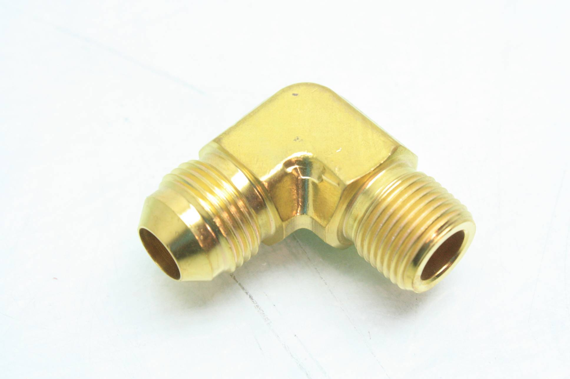 Brass ssp elbow hydraulic fittings quot npt jic