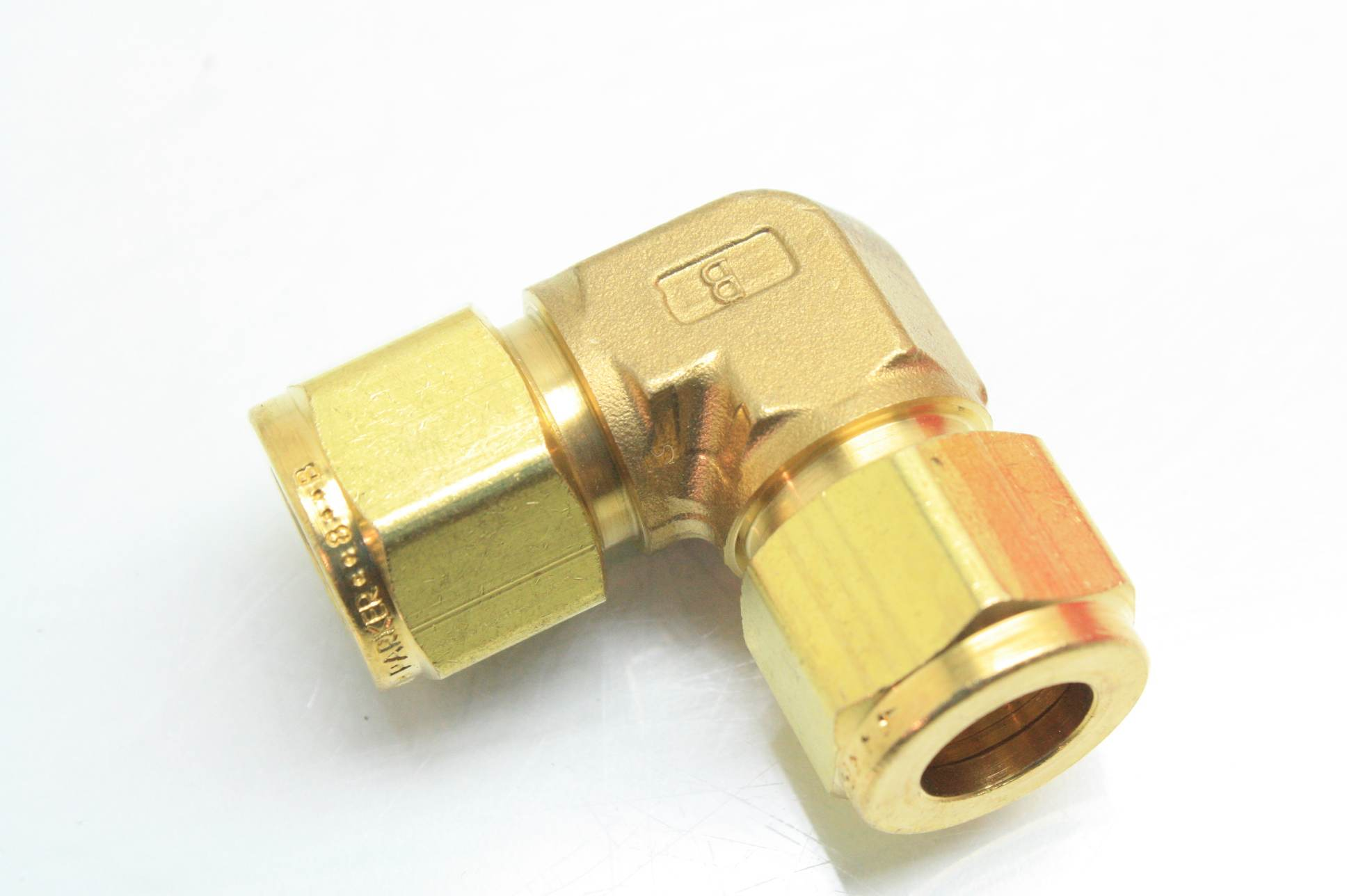 New parker ee b brass union elbow tube fittings