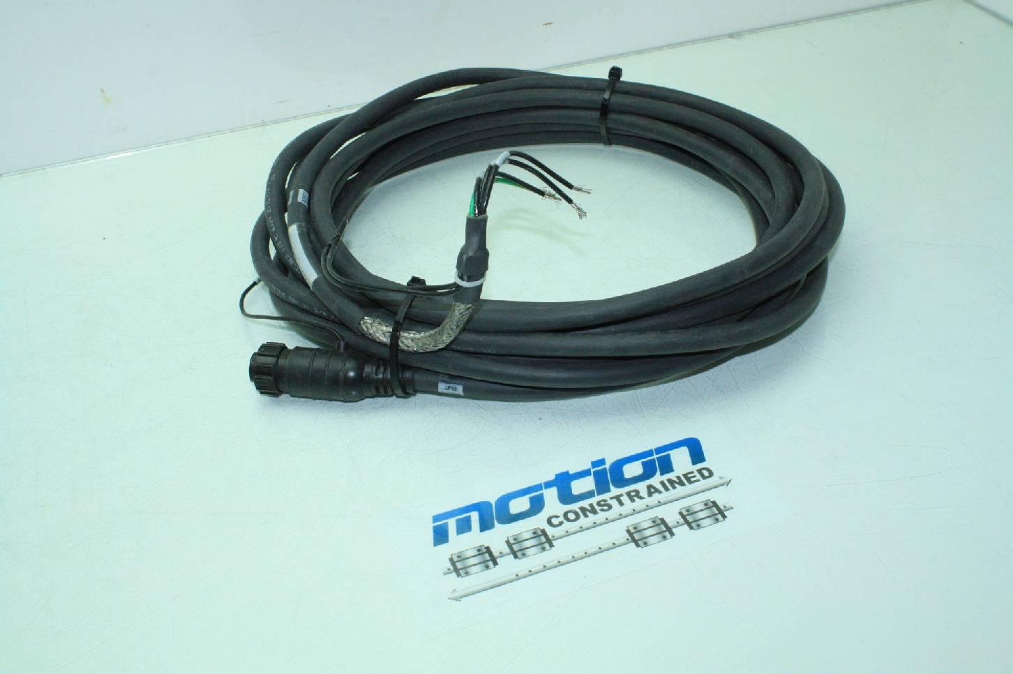 Allen bradley 2090 xxnpy 16s09 brushless servo power cable for Allen bradley servo motor cables