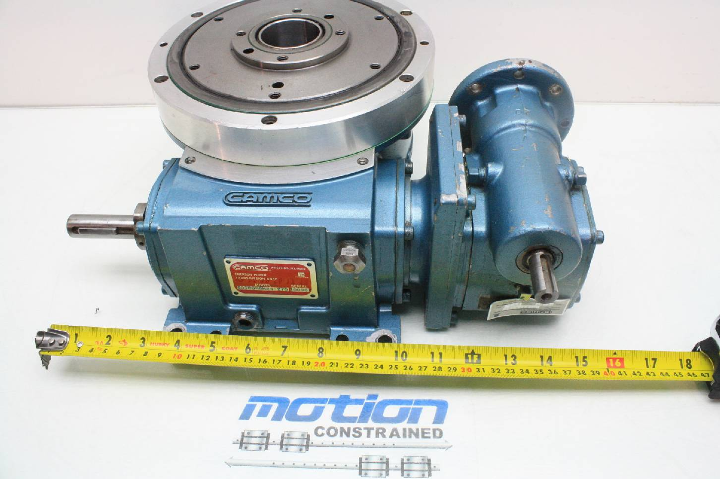 Camco 601rdm8h24 270 Rotary Indexer 8 Stops Gear Reducer