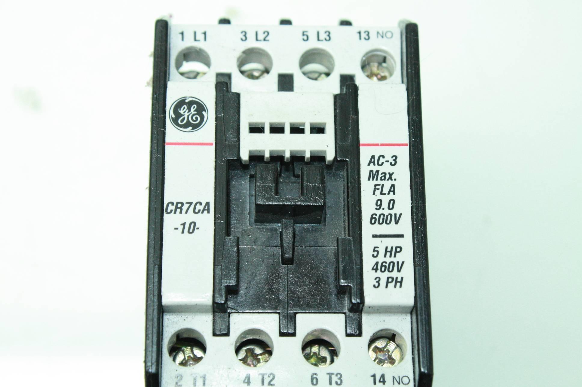 General Electric CR7CA-10 Motor Starter Relay Contactor