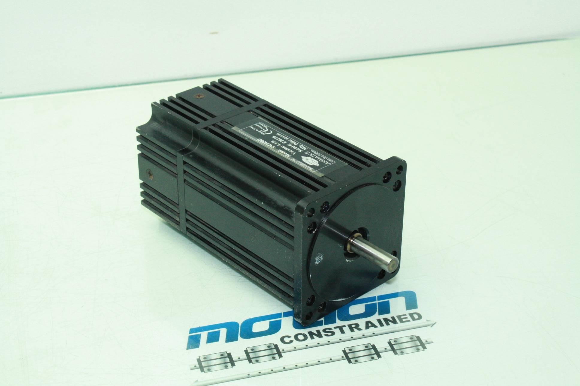 Animatics sm3450d smart motor brushless integrated servo for Integrated servo motor and drive