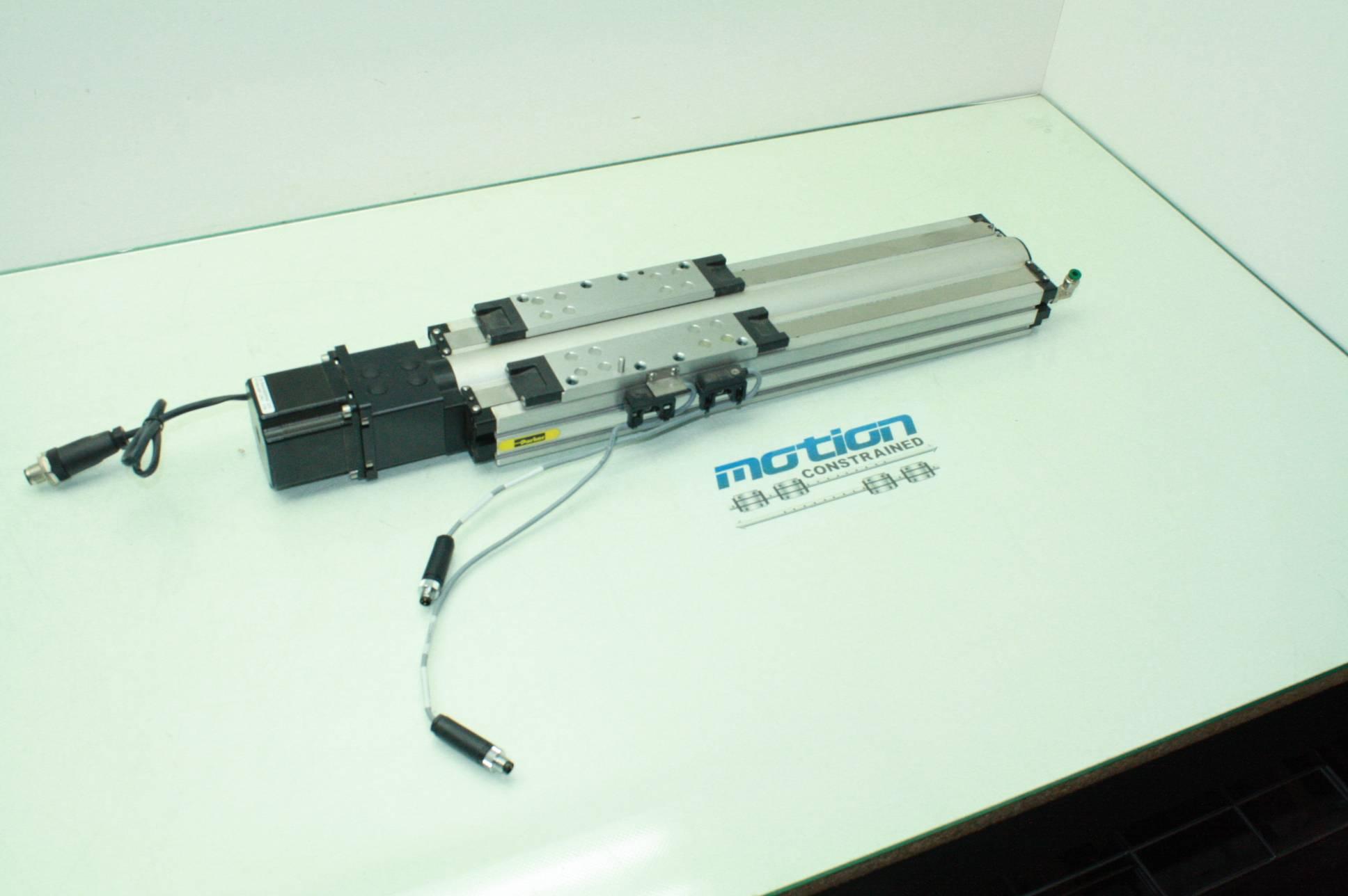 Parker lead screw driven linear actuator 210l nema 23 for Linear actuator stepper motor driven