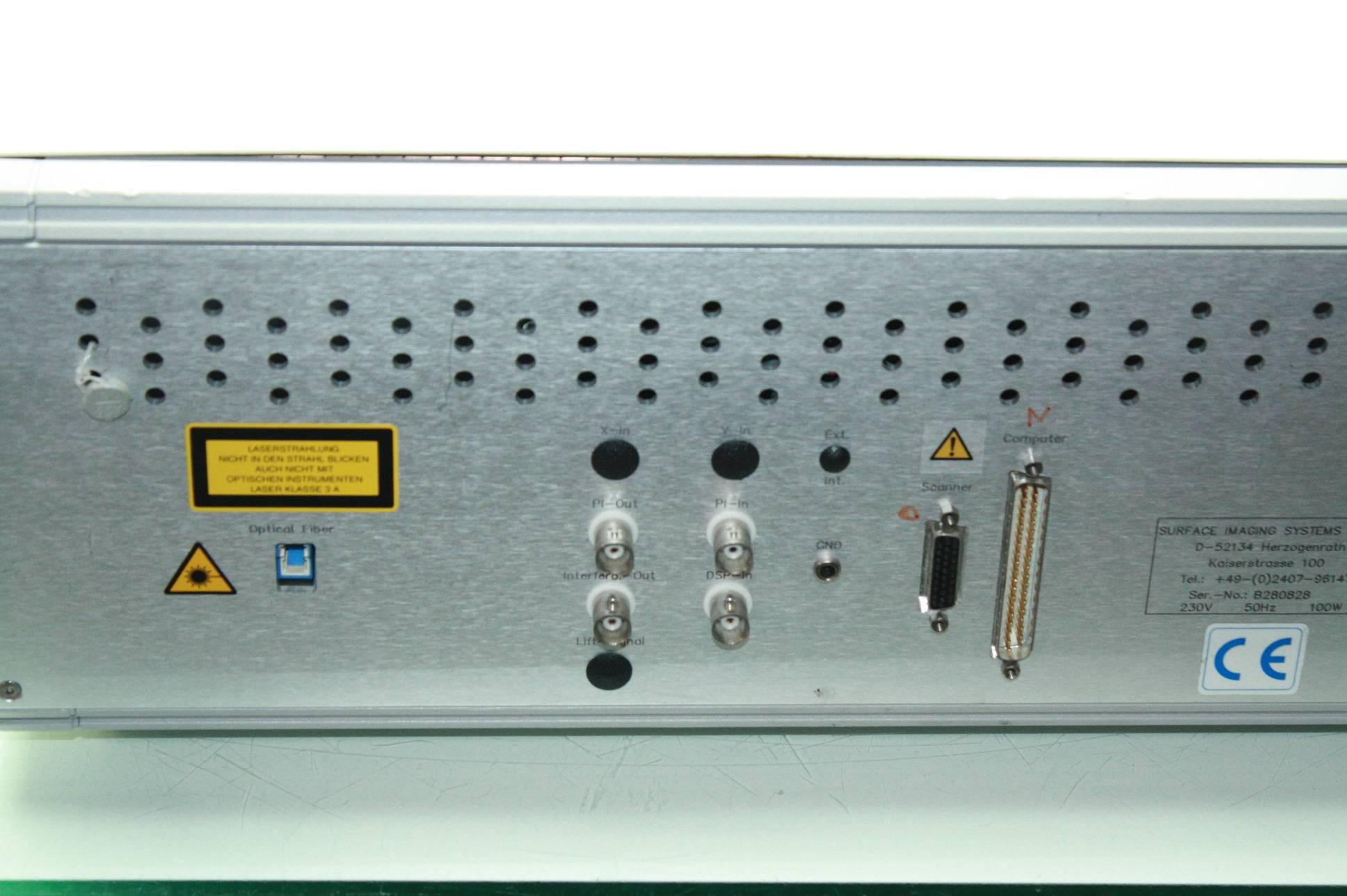 Surface Imaging SiS SCANControl Galvo Controller Laser Inferometer  Controller - Used