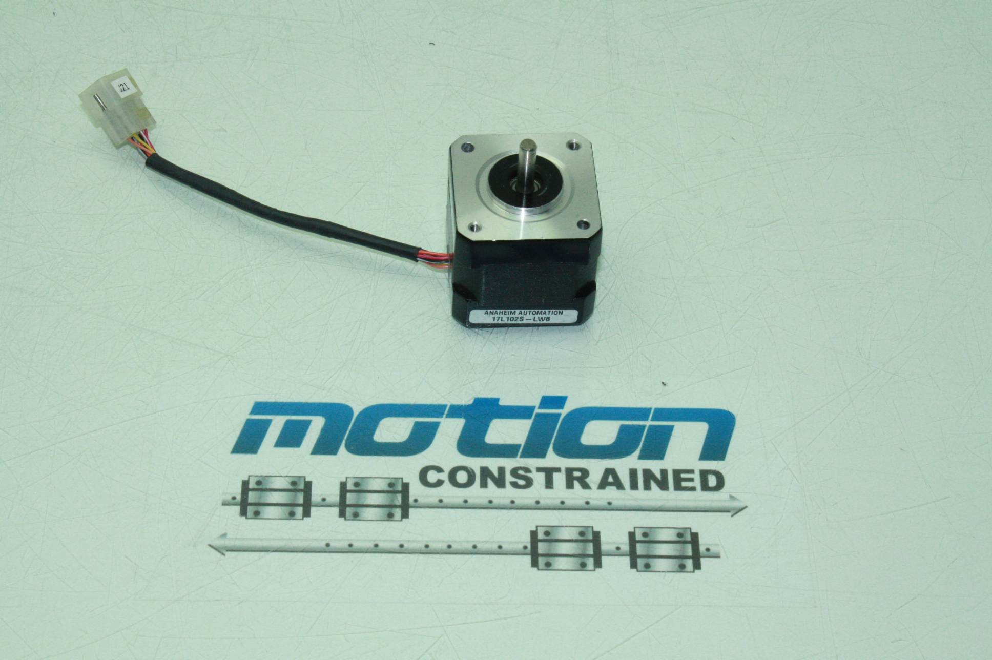 Anaheim Automation 17l102s Lw8 Nema 17 Stepper Motor 5mm