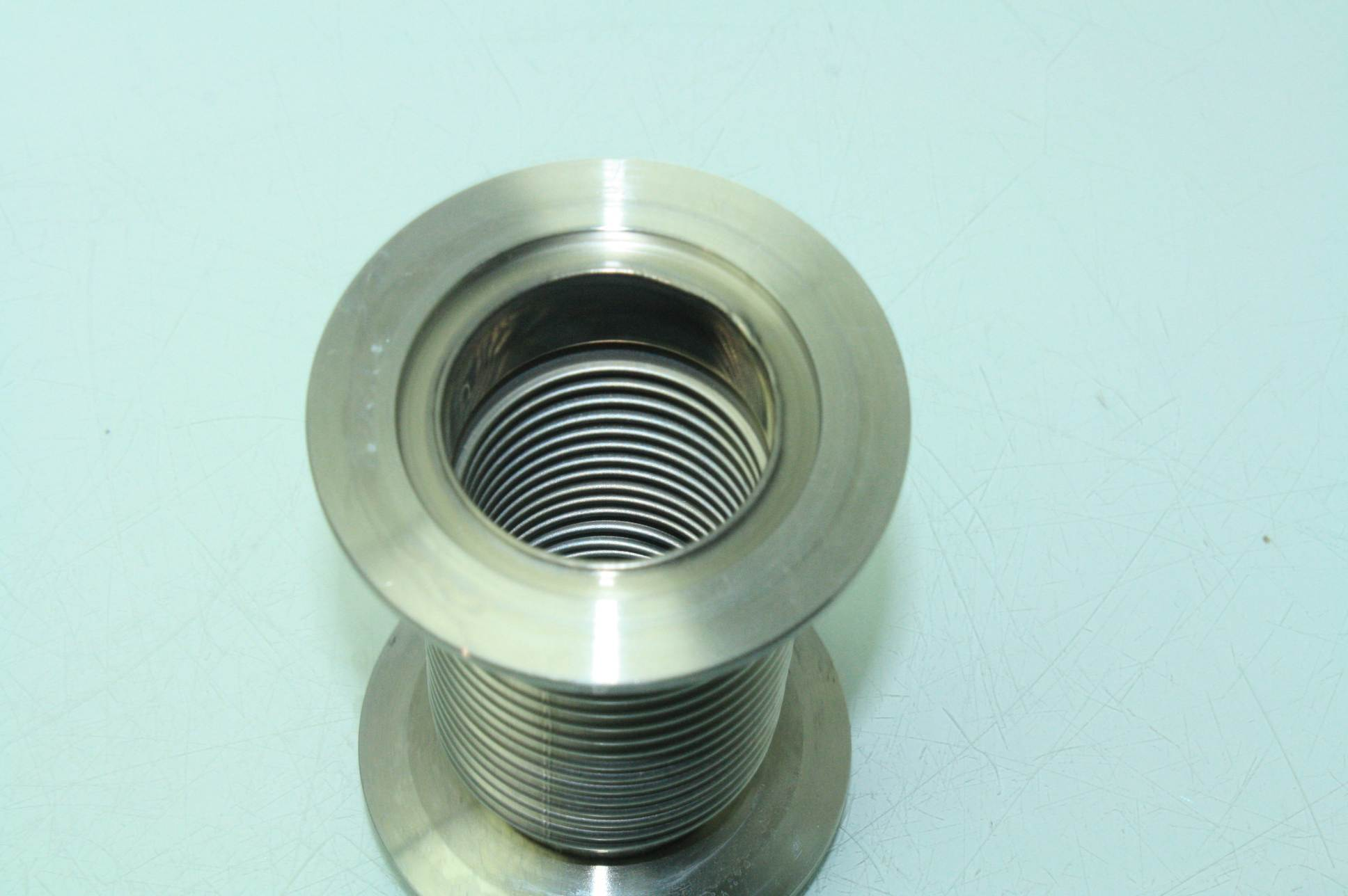 Mks stainless steel vacuum bellow tubing fitting mm bore