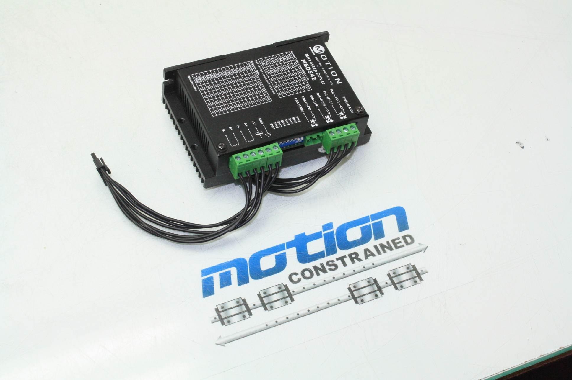 Motion Msd542 V2 0 Microstepping Stepper Motor Drive 2