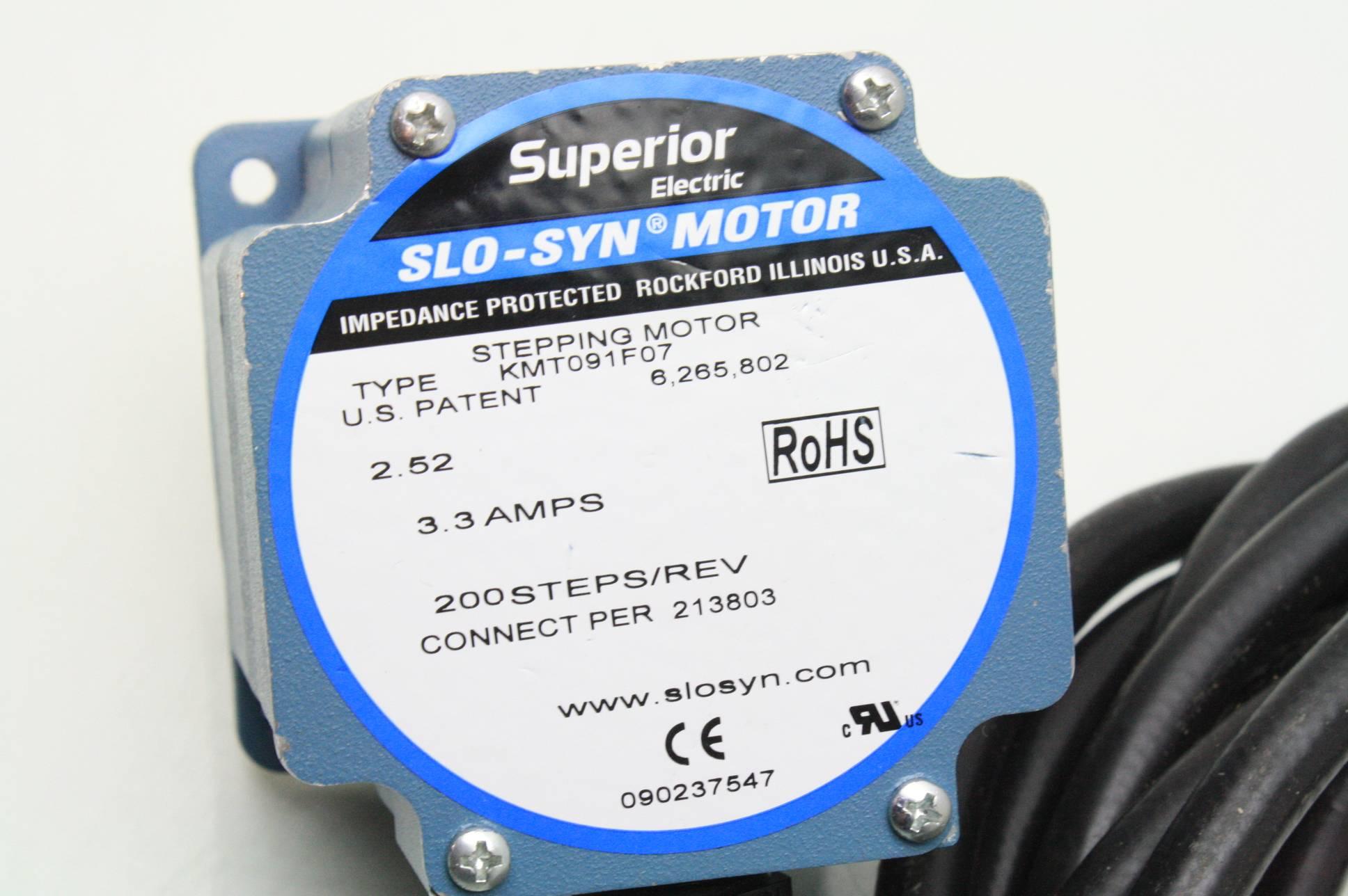 Description. Superior Electric Slo-Syn KMT091F07 Motor ... : slo syn motor wiring - yogabreezes.com