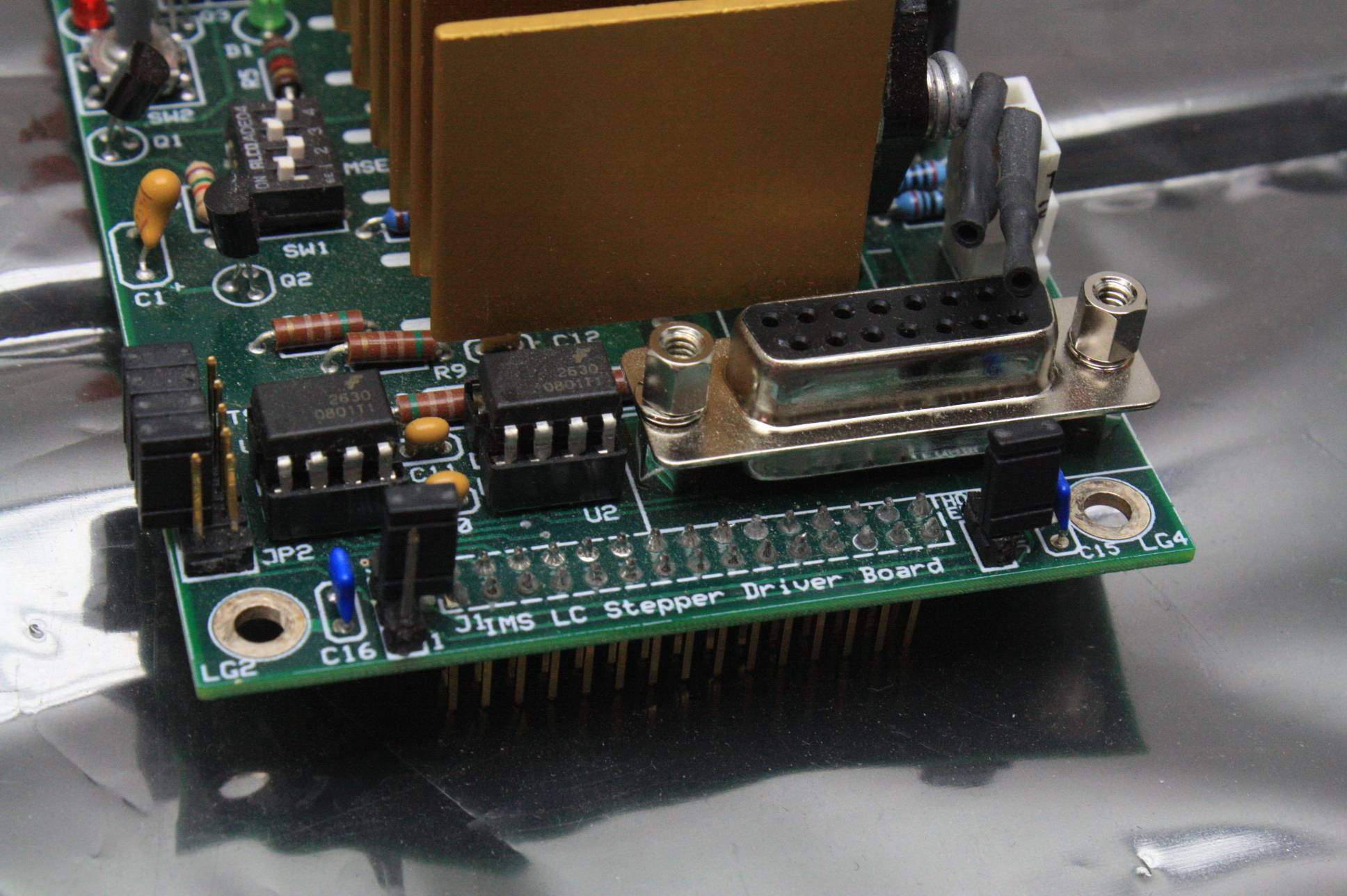 Jpsa Ims Lc Stepper Motor Driver Board W Ims