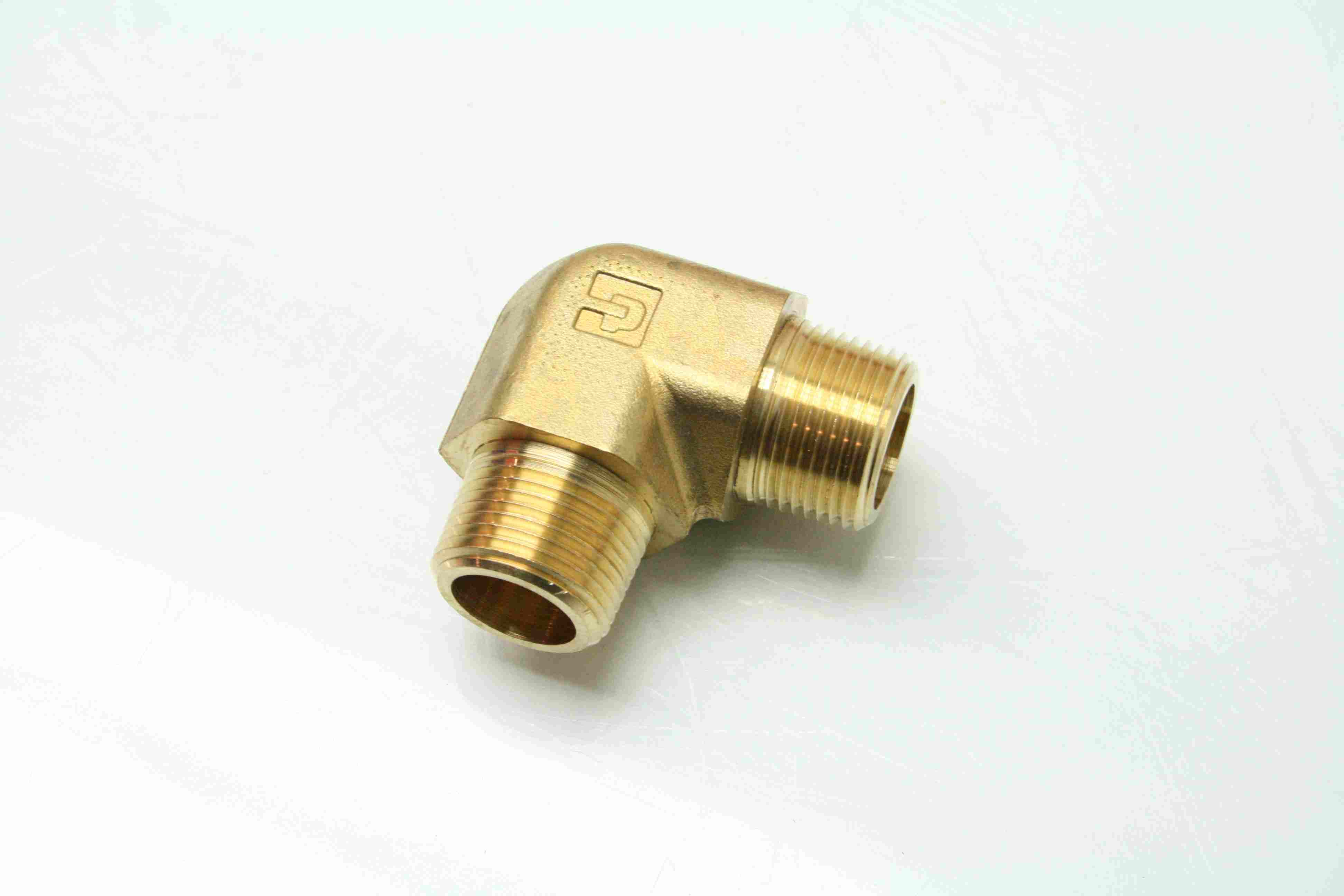 Parker me b brass degree elbow pipe fittings